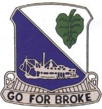 100 th /442 nd Reserve insignia