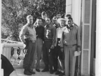 Olga with 100th officers Dec 44