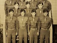 University of Hawaii ROTC, 1933. M. Fukuda, 3rd row, far left.