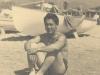 Marco Miyamoto, Beach at Marina de Pisa, aka Italian Riviera [Courtesy of Bernard Akamine]