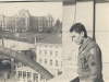 Bernard S. Akamine - Leghorn, early 1946, on the balcony of building that served as quarters [Courtesy of Bernard Akamine]
