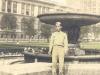 Charles Okimoto in Grant Park, Chicago, Illinois, September 9, 1942. [Courtesy of Dean Okimoto]