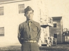 Charles Okimoto at Camp McCoy, Wisconsin, 1942 [Courtesy of Dean Okimoto]