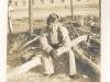 Ernest Enomoto at Camp McCoy, Wisconsin [Courtesy of Misao Enomoto]