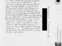 Postcard to George Splinter III.  [Courtesy of Ukichi Wozumi].