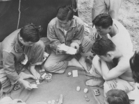 Poker Game - McCoy. [Courtesy of Bert Hamakado]