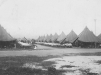 U.S. soldier camp. [Courtesy of Mary Hamasaki]