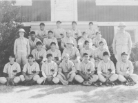 100th Battalion, Company D Baseball team. [Courtesy of Mary Hamasaki]