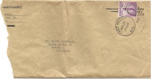 Alex McKenzie 08-27-1942 Envelope