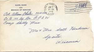 Allan-Ohata-01-23-1943-Envelope