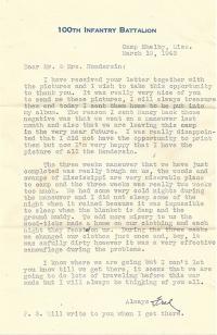 Fred-Kurisu-03-19-1943-Letter
