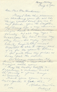 Richard-Last-name-unknown-08-18-1942-Letter-1