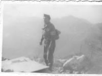 Henry Nakasone on an Italian hillside. [Courtesy of Henry Nakasone]