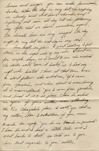 July 21, 1942 Letter Page 2