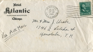 July 27, 1943 Envelope