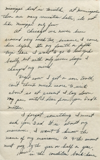 July 27, 1943 Letter Page 2