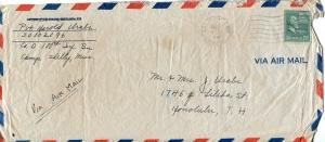 July 4, 1943 Envelope