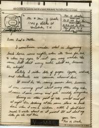 Oct 6, 1943 Letter