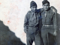 Himeo Iwata of ? 1945 Leghorn, Italy went loafing to see Mana's.  (Courtesy of Dorothy Inouye)