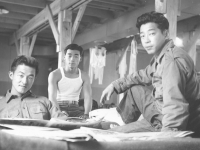 We three - Sunday Morning, Nov. 8, 1942. [Courtesy of Dorothy Ibaraki]