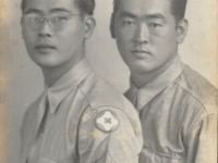 Brothers Walter Wataru and Shigeru Inouye. (Courtesy of Clinton K. Inouye)