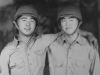 Shigeru Inouye and Walter Wataru Inouye taken in the 1945 time fram when they were training for their WWII deployments.