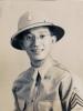 (November 1941) Masanobu Eugene Kawakami (age 28) in uniform.  [Courtesy of Joanne Kai]
