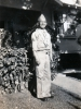 (November 1941) Eugene Kawakami in uniform, in front of his family's home.  [Courtesy of Joanne Kai]