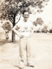 (July 01, 1942) Eugene Kawakami at Camp McCoy, Wisconsin.  [Courtesy of Joanne Kai]