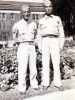 "(August 16, 1942) ""Eugene and Sgt. Walter Moriguchi, University of Minnesota in Minneapolis, Minnesota"". Eugene Kawakami is on the left.  [Courtesy of Joanne Kai]"