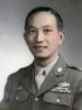 (1943) S/Sgt. Masanobu Eugene Kawakami.  [Courtesy of Joanne Kai]