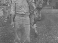 Eddie Miyake at Camp Shelby, Miss -1943. [Courtesy of Elaine Kishinami Tadaki]
