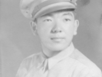 To Eddie & Loretta - Always, Bob. Edward Kishinami's youngest brother - July, 1943.  [Courtesy of Elaine Kishinami Tadaki]