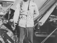 Pvt. F.K. Warren [Courtesy of John Oki]