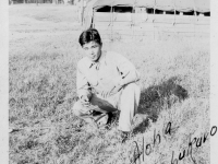 Hideo Shimabukuro, 8/14/42 Camp McCoy Wis.  [Courtesy of Ruth Kunishige]