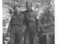 Ben Kakazu and Henry Nakazoni in the Maritime Alps, Italy [Courtesy of Don Matsuda]
