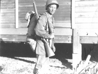 To Alice - Just a soldier Ray Tagawa Fort McClellan 1944. [Courtesy of Leslie Taniyama]