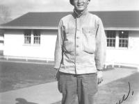 To Kimiko Love, Frank. Fann Snelling, Minn. April, 1946. [Courtesy of Leslie Taniyama]