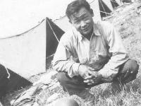 Taken in Camp McCoy July, 1944. [Courtesy of Leslie Taniyama]