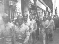 Taken Sept. 2, 1942. Walking the streets of Green Bay. [Courtesy of Leslie Taniyama]