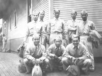 Taken Sept 1, 1942. At the Depot in Sparta. [Courtesy of Leslie Taniyama]