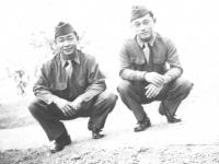 Mickey & Masayoshi Miyagi. [Courtesy of Leslie Taniyama]