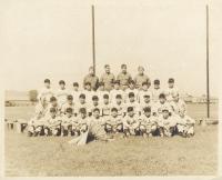 100th Battalion Aloha Baseball Team, 1942. [Courtesy of Dorothy Kometani]