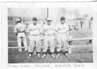 Members of the Aloha team. Former Asahis -Moriguchi, Yamashita, Takata [Courtesy of Sandy Tomai Erlandson]
