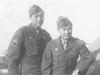 Moriso Teraoka and Don Akutagawa while on leave from Livorno, Italy, 1945 (Courtesy of Moriso Teraoka)