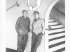 Moriso Teraoka and George Eiji on a ferry ship in California en route to San Francisco (Courtesy of Moriso Teraoka)