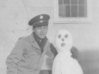 """Dopey"" Nov. 29, 1942 Camp McCoy, Wi.  [Courtesy of Jan Nadamoto]"