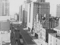 Taken Nov. 20, 1942 from our room on the 10th floor at Sloane House Y.M.C.A. New York City. 34th St. 9th Ave.  [Courtesy of Jan Nadamoto]