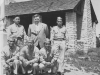 LaCrosse, Wisconsin Banks of Mississippi.  Takuji Ono, Mr. James Kapelas, Toshio Kawamoto, James Komatsu, Richard Ogura, Fred Kanemaru.  [Courtesy of Jan Nadamoto]