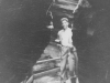 Still in the Dells-Reservation.  Taken Aug.  9, 1942 Fat Man's Misery in Cold Water Camp on Wisconsin Dells, Wis. [Courtesy of Jan Nadamoto]